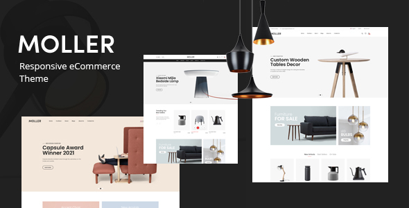 Moller - Furniture amp Decor WooCommerce WordPress Theme TFx ThemeFre