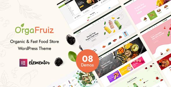 OrgaFruiz - Organic amp Food WooCommerce Theme RTL Supported TFx ThemeFre