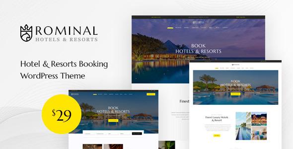 Rominal - Hotel Booking WordPress Theme TFx ThemeFre