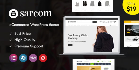 Sarcom - Fashion WooCommerce Theme TFx ThemeFre