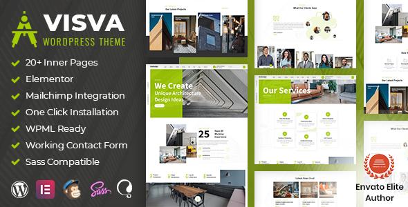 Visva - Architecture WordPress Theme TFx ThemeFre