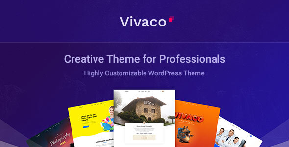 Vivaco  Multipurpose Creative WordPress Theme TFx ThemeFre