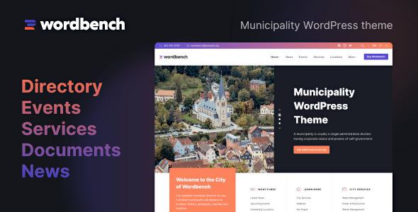 Wordbench - Municipality WordPress Theme TFx ThemeFre