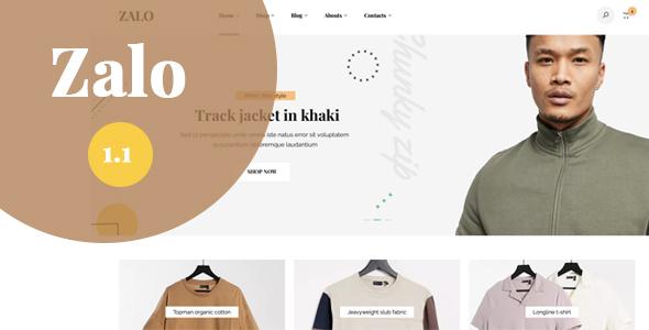 Zalo fashion - WooCommerce theme TFx WordPress ThemeFre