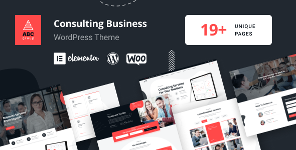 ABCGroup - Consulting Business WordPress Theme TFx ThemeFre