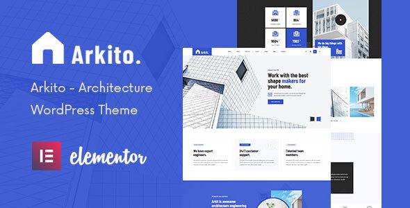 Arkito - Architecture WordPress Theme TFx ThemeFre