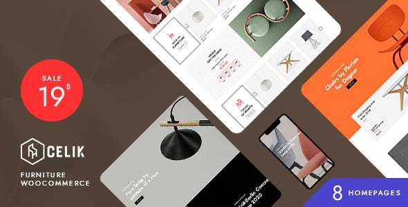 Celik - Furniture WooCommerce Theme TFx ThemeFre