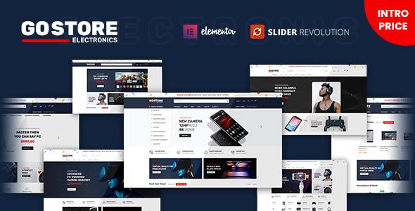GoStore - Elementor WooCommerce WordPress Theme TFx ThemeFre