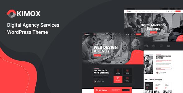 Kimox - Digital Agency Services WordPress Theme TFx ThemeFre