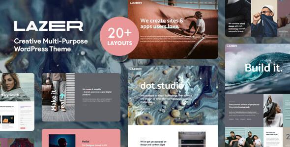 Lazer - Creative Multi-Purpose WordPress Theme TFx ThemeFre