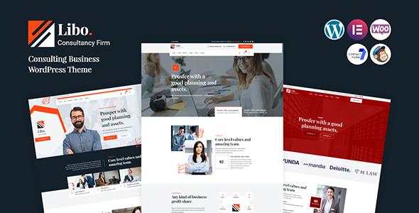 Libo - Consulting Business WordPress Theme TFx ThemeFre