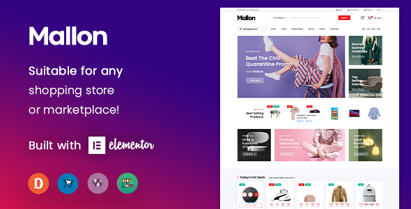 Mallon - Multipurpose Elementor WooCommerce WordPress Theme TFx ThemeFre