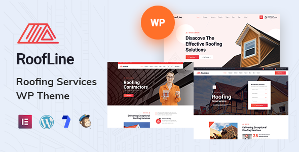 RoofLine - Roofing Services WordPress Theme TFx ThemeFre