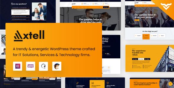 Axtell - IT Solutions WordPress Theme TFx ThemeFre