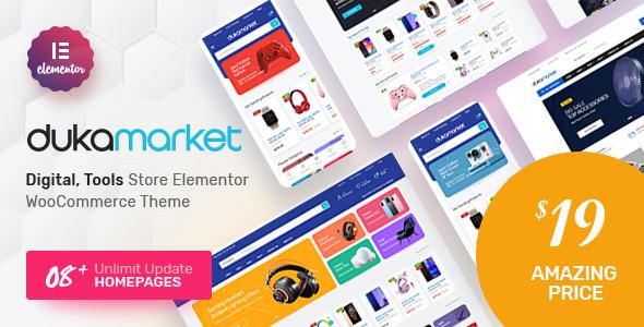 DukaMarket - Multipurpose WordPress Theme TFx ThemeFre