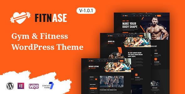 Fitnase - Gym And Fitness WordPress Theme TFx ThemeFre