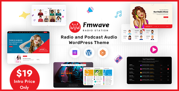 Fmwave - Radio Station WordPress Theme TFx ThemeFre