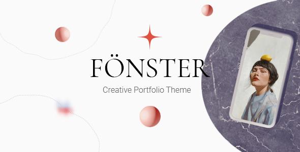 Fnster - Creative Portfolio Theme TFx WordPress ThemeFre