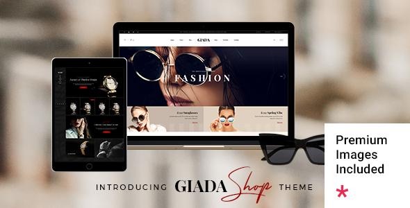 Giada - Jewelry and Watch Store TFx WordPress ThemeFre