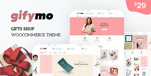 Gifymo - Giftshop WooCommerce Theme TFx ThemeFre