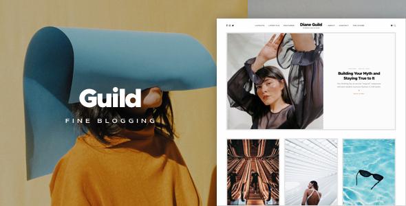 Guild  A Fine WordPress Blogging Theme TFx ThemeFre