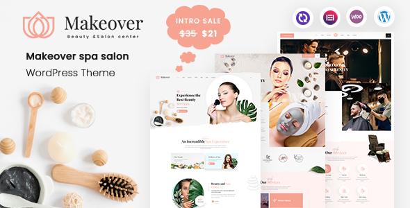 Makeover - Spa Salon WordPress Theme TFx ThemeFre