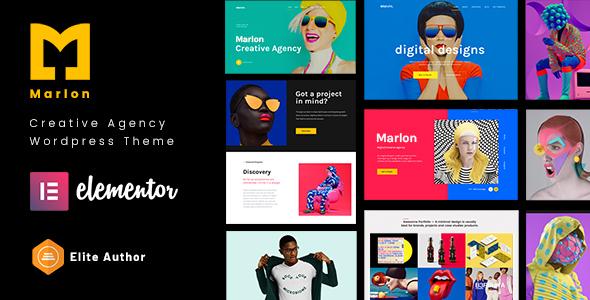 Marlon - Agency amp Portfolio WordPress Theme TFx ThemeFre