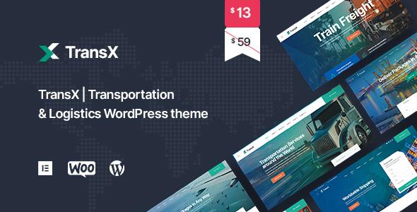 TransX  Transportation amp Logistics WordPress Theme TFx ThemeFre