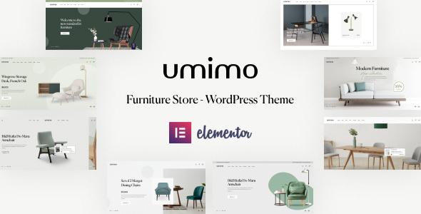 Umimo - Furniture Store WordPress Theme TFx ThemeFre