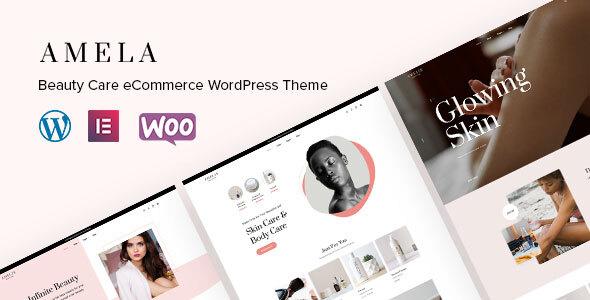 Amela  Beauty Care WooCommerce WordPress Theme TFx ThemeFre