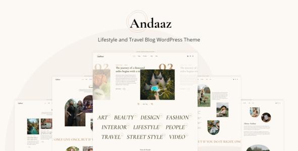 Andaaz - Lifestyle and Travel Blog WordPress Theme TFx ThemeFre