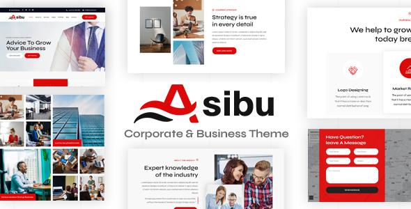 Asibu - Business WordPress Multi-Purpose TFx ThemeFre