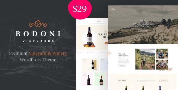 Bodoni - Wine Shop amp Vineyard WooCommerce Theme TFx ThemeFre