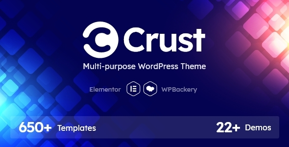 Crust - Multipurpose WordPress Theme TFx ThemeFre