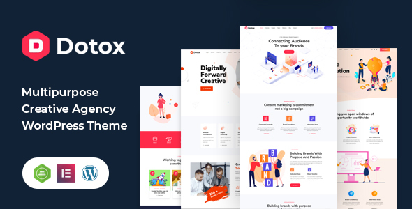 Dotox - Multipurpose Creative Agency WordPess Theme TFx ThemeFre