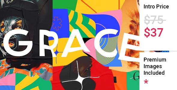 Gracey - Creative Portfolio Theme TFx WordPress ThemeFre
