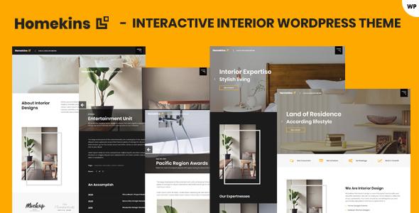 Homekins - Interior WordPress Theme TFx ThemeFre