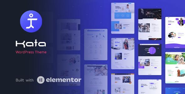 Kata - Elementor WordPress Theme TFx WordPress ThemeFre