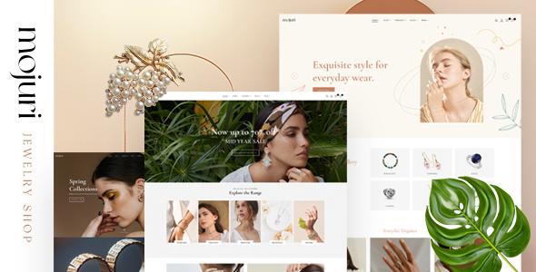 Mojuri  Jewelry Store WooCommerce Theme TFx ThemeFre