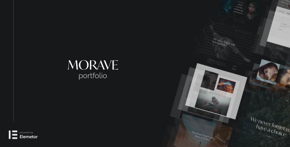 Morave - AJAX Portfolio WordPress Theme TFx ThemeFre