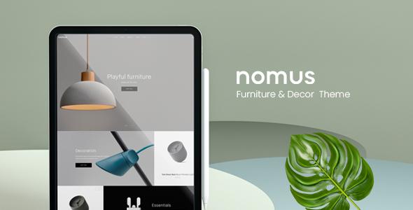 Nomus  Furniture amp Decor WooCommerce WordPress Theme TFx ThemeFre