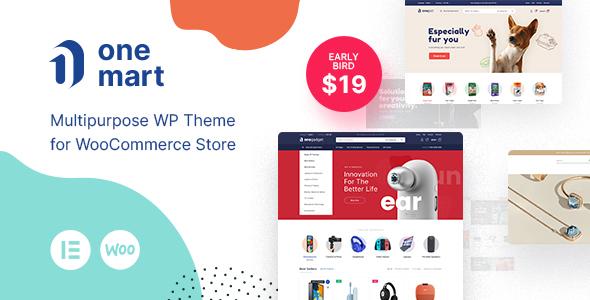 Onemart - Multipurpose eCommerce WordPress Theme TFx ThemeFre