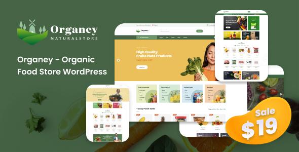 Organey - Organic Food WooCommerce WordPress Theme TFx ThemeFre