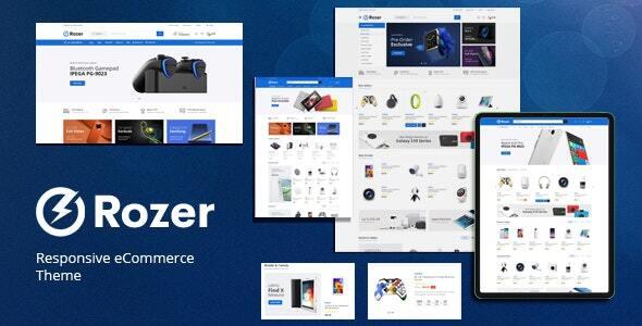 Rozer - Digital eCommerce WordPress Theme TFx ThemeFre