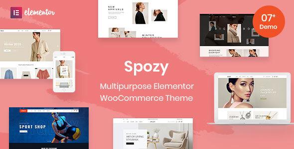Spozy - Multipurpose WooCommerce Theme TFx ThemeFre