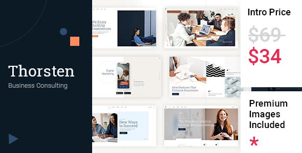Thorsten - Business Consulting TFx WordPress ThemeFre