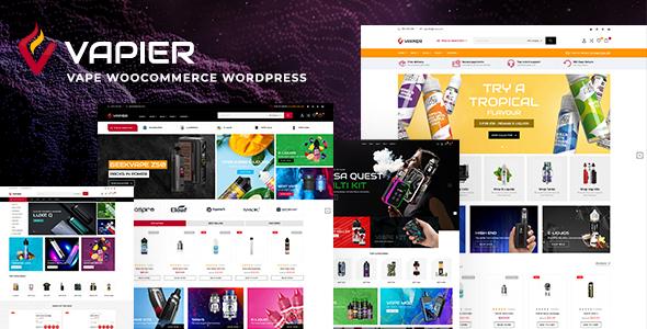 Vapier  Vape Store WooCommerce WordPress Theme TFx ThemeFre