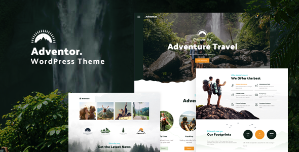 Adventor - Travel and Adventure WordPress Theme TFx ThemeFre
