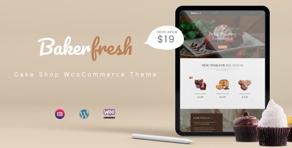 Bakerfresh - Cake Shop WooCommerce Theme TFx ThemeFre