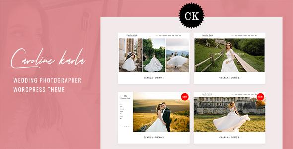 Ckarla - Wedding Photography WordPress Theme TFx ThemeFre